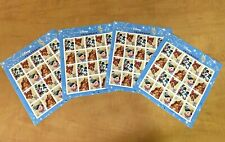 USA Stamps 2003, The Art of Disney - Friendship, 4 Full Sheets, MNH