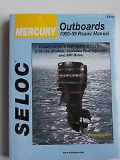MERCURY OUTBOARD SERVICE MANUAL 90- 300HP 1965 TO 1989 SELOC 1408
