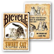 Bicycle-Sweet Cat Playing Cards poker juego de naipes
