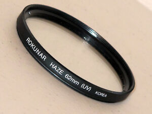 62mm Rokunar UV Haze Filter Excellent   #62802st2