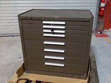 Kennedy Tool Box Roller Cabinet 8 Drawer 40 X 34 X 20 Steel Brown 348xb