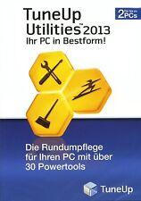 TuneUp Utilities 2013 Computer Firewall - 2 PC  Neu u. OVP
