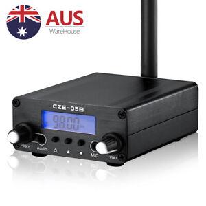FM Transmitter 0.5W 76MHz~108MHz LCD Broadcast Mini Radio Station PLL for Church