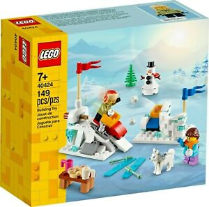 40424 LEGO Winter Snowball Fight Brand New Christmas Gift