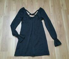 Esprit Langarm Long Business Bluse Shirt Tunika Schwarz Gr 32