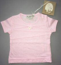 Les Bébés De Floriane Tee-shirt Rose Dentelle Breloque Cœur 3 Mois Neuf Étiq !!!