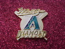2001 Arizona Diamondbacks World Series Media Press Pin - New York Yankees (38th)