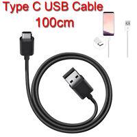 1m USB-C USB 3.1 Tipo C Cable Datos de Cargador para Samsung Galaxy S8 Plus