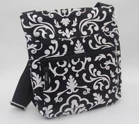 Thirty one Organizing shoulder gift bag purse pouch 31 black parisian pop new