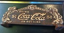 Coca Cola Cash Register Sign Plaque Solid Metal Depression Era Style Pepsi 7Up