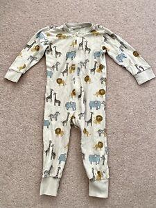Lindex Sleepsuit Size 12-18 Months