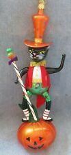 Christopher Radko Glass Ornament-2006 Vhtf Halloween, The Jack'S Meow