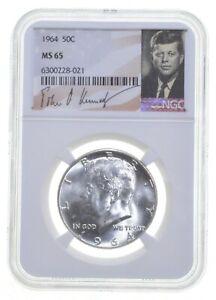 1964 MS65 Kennedy Half Dollar Philadelphia NGC Special Label *0248