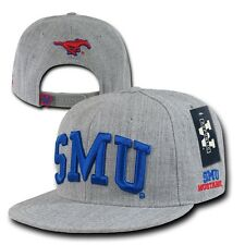 Southern Methodist University SMU Mustangs Flat Bill Snapback Baseball Cap Hat