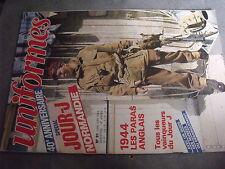$$r Revue uniformes N°81 Paras anglais 1944  allemands Normandie  Charles Conrad