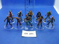 RPG/Rol/Modern, Apocalypse - Zombis Variados de Zombicide x10 Pintados - OT291