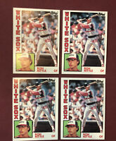RON KITTLE 1984 TOPPS CHICAGO WHITE SOX #480 4X ROOKIE RC LOT