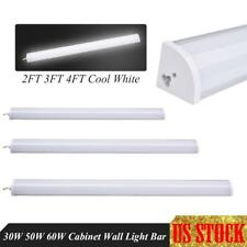 30W 50W 60W LED Tube Light Wall Batten Lights 2FT 3FT 4FT Fluorescent Lamp Bar