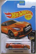 Hot Wheels Nightburnerz '17 NISSAN GT-R (R35) 1/10 282/365 burnt orange