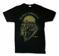 Black Sabbath Us Tour 1978 Black T Shirt New Official Band Merch Reissue