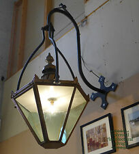 Large Lantern with Bracket - Over 1.5m Tall - 0517
