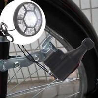 Bicycle Friction Generator Dynamo Lights Cycling Headlight Bike Rear Light Lamp