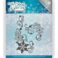 Jeanine's Art/JAD10109/Cutting/Winter Swirl/Flowers/Snowflake/Corner/Die