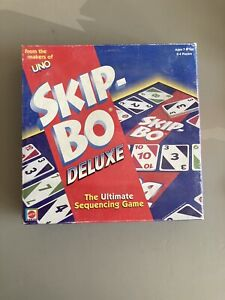 UNO SKIP-BO DELUXE by MATTEL  ULTIMATE SEQUENCING GAME, COMPLETE  #43170 2001