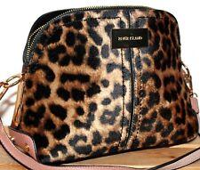 River Island Leopard Print Kettle Satchel/Messenger/Shoulder Bag/Purse