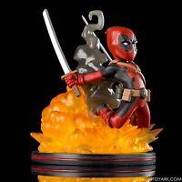 QMX Marvel Comics Q-Fig Deadpool Figure Loot Crate Exclusive NEW SEALED