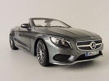 Mercedes-Benz S-Class Cabriolet 2015 1/18 NOREV 183484 Mercedes S-Klasse S 500