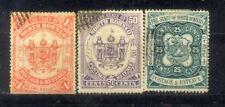 Malaya 1894 North Borneo 25c to $1. CV Rm 650