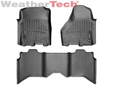 WeatherTech FloorLiner for Dodge Ram 1500/2500/3500 Crew Cab - 2012-2018 - Black
