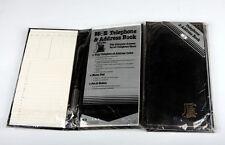 Vintage Web de teléfono y dirección Libro Negro
