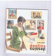 JUILLARD. Destins. Catalogue Exposition 2008. Neuf