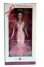 Pink Ribbon Susan G Komen Breast Cancer Foundation Barbie Doll 2006