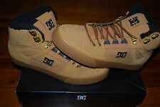 NEW Men's DC Shoes Spartan High Water-Resistant Boots (12) Turkish Coffee