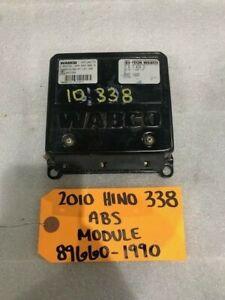 10 HINO 338 238 268 WABCO ABS CONTROL MODULE COMPUTER 89660-1990