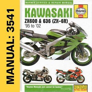 Kawasaki Motorcycle Service Repair Manuals 600 For Sale Ebay