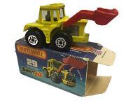 Matchbox Lesney Superfast in OVP. Nr.: 29 Tractor Shovel MODELL IST UNBESPIELT