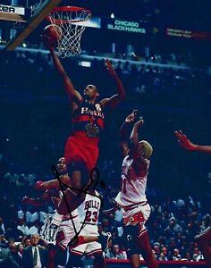 Steve Smith Atlanta Hawks Signed Autographed 8x10 Photo COA