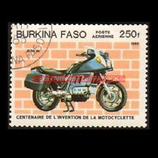 BMW K100 1985 K 100 - BURKINA FASO : Timbre Poste Moto