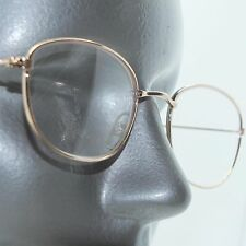 Gold Metal Wire Frame Oval Classic Simple Reading Glasses +1.00 Lens
