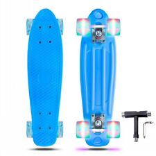 Complete Skate Boards Skateboard Led Wheels for Beginners Teens Girls Boys Us
