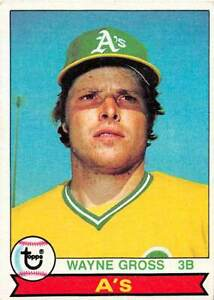trading card Topps A'S 1979 WAYNE GROSS  #528