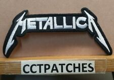 Metallica Rock Band Patch