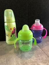 """3 Baby-Trinkflaschen,"""" Nuby, babylove, avent"""""""