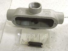 "Hubbell Killark Aluminum Conduit Body Imc & RigidB 1-1/4"" Trade 85 Form Ox-4"