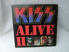 KISS ALIVE II ALBUM SIGNED BY GENE SIMMONS AND PAUL STANLEY