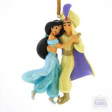 Authentic Disney Parks Aladdin Jasmine Christmas Ornament Glitter Holiday